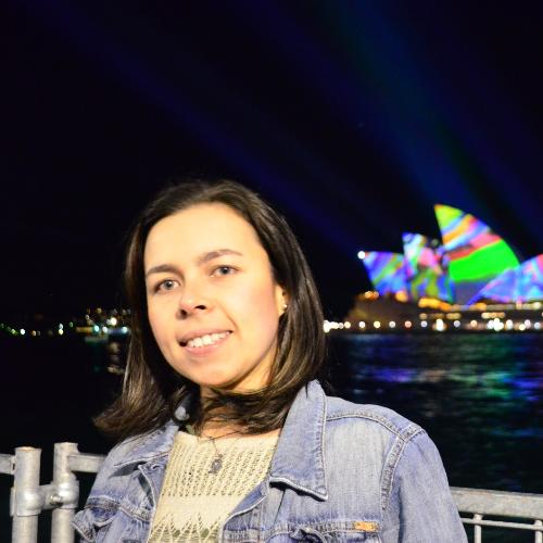 Alexandra - Sydney: Hi, mi name is Alexandra Osorio, I am from...