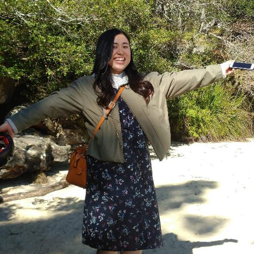 Honoka - Sydney: My name is Honoka from Japan. I'm studying at...