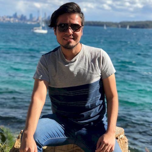 Luis Eduardo - Sydney: ¡Hola! Mi hombre es Luis Eduardo Sanch...