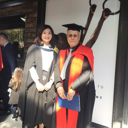 Candice - Auckland: I graduated from Massey University with a ...