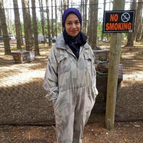 Farzana - Auckland: I am a primary school teacher at the momen...
